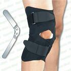 Medical Grade Hinged Neoprene Knee Brace Support Guard Stabilizer Strap