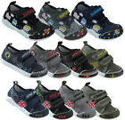Baby infant toddler boy canvas nursery shoes trainers size 4 5 6 7 8 New