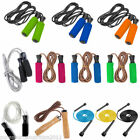 Skipping Speed Rope Weighted Fitness Boxing Leather Jump Jumping Gym