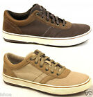 MENS CATERPILLAR CAT EMBRY CANVAS CLASSIC CASUAL LACE UP TRAINERS SIZE 6-12 NEW