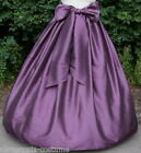 Ladies Victorian, American Civil War  costume fancy dress SKIRT & SASH  (AUB)