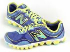 New Balance W3090BY2 D Blue & Yellow Ionix Minimus Lightweight Running Shoes NB