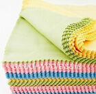 10x Cleaning Cloth for Glasses Photo Frame Camera Lens Disk DVDs Mixed Color