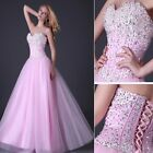 Charming Sequins Beaded Corset Women Evening/Formal/Ball gown/Party/Prom Dresses