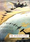 World War Two De Havilland Mosquito Advertising Poster A3 / A2 Print