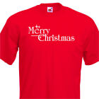 MERRY CHRISTMAS  Funny Childs T-Shirt, 8 sizes from 1 year to 15 years Xmas Gift