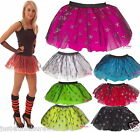 NEON TUTU SKIRT /ACCESSORIES 80's FANCY DRESS