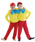ALICE IN WONDERLAND Tweedle Dee OR Tweedle Dum Fancy Dress Costume  ALL AGES