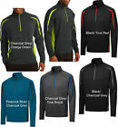 Mens Pullover Stretch Windshirt Jacket Moisture Wicking Sportwick 1/2 Zip New