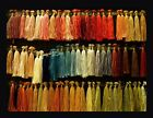 SILK .. A Melange of Colors...Upscale Linen Blend Woven Wall Decor (Tapestry)