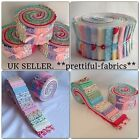 48 jelly roll fabrics strips, quilting, sewing, crafts 100 % cotton from £1.19