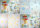 Baby Nursery bedding animal birds print Cot quilt panel + bumper fabric VARIOUS