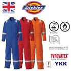 New Dickies WD5025 Flame Retardant Firechief High Visibility Overalls Boilersuit