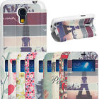 Patterned S-View Smart Cover Leather Flip Casefor Samsung Galaxy S4 Mini i9190