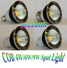 4W/6W/9W COB Spotlight LED Bulb Lamp Cool/Warm White 85V-265V E27/GU10/5.3/E14