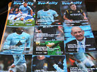 09/10  Manchester City Home Programmes     (v Your Choice)