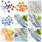 20/100pcs Trigon Glass Crystal Bracelet Necklace Finding loose Spacer Beads