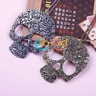 Beauty Retro Punk Style Generous Skull Heads Chain Long Necklace Gift