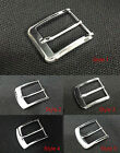 ALLOY METAL PIN BUCKLE FOR SNAP ON LEATHER BELT SPARE ALL SIZES MEN WOMEN UNISEX