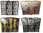 XL Strong Laundry Bag Storage Reusable Shopping Eco Bags 3 Printed Design