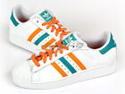 Adidas Originals Superstar II White/Zest/Blast Emerald Sports Heritage Q33035