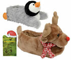 LADIES DUNLOP SLIPPERS NOVELTY ANIMAL WARM SHOES CHRISTMAS GIFT D43