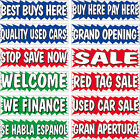 3 x 10 ft Burst Banner  with FREE SHIPPING