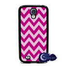 Raspberry Beret Hot Pink Chevron Case for Samsung Galaxy S4 SIV Phone Cover