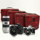 New Waterproof Camera Shoulder Carry Bag Padded For Canon Nikon Sony DSLR Leica