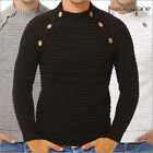 Tazzio 3550 Herren Strick Pullover Sweat Shirt