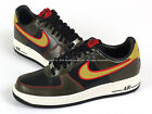 Nike Air Force 1 Black/Parachute Gold-Dark Loden Classic Casual AF1 488298-075