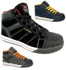 NEW MENS SAFETY BOOTS WORK STEEL TOE CAP HIKER SHOES TRAINERS UK SIZE 7-11