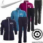 Nike Women's Full Zip Jogging Tracksuit Violet Turquoise Pink Blue Black Purple