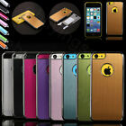 Luxury Brushed Metal Aluminum Chrome Hard Case Cover Fr iPhone 5c w/ Stylus Film