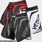 Venum Fight Shorts Sharp schwarz weiß MMA Muay Thai Training