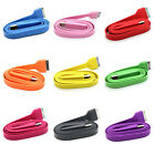 Colorful 3FT Flat USB Charger Data Sync Cable For iPhone 4S 4G iPod Touch Video