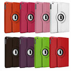 PU LEATHER 360 ROTATING STAND CASE COVER FOR APPLE IPAD AIR + CHOOSE ACCESSORIES