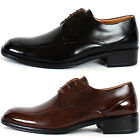 New Mooda Mens Lace Up Leather Dress Formal Basic Shoes Multi Colored