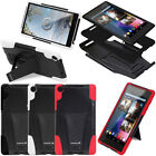 Rugged Dual Layer Hybrid Impact Stand Case Cover for Google Nexus 7 2nd Gen 2013