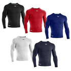 UNDER ARMOUR SONIC HEATGEAR COMPRESSION LONGSLEEVE BASE LAYER SHIRT (FITTED)
