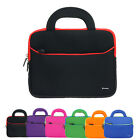 8.9~10.1 in Neoprene Dual Pocket Zipper Sleeve Case Bag with Handle for Tablet