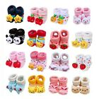 Newborn Baby Boy Girl Unisex Anti-slip Warm Socks Animal Shoes Boots 0-6 Months
