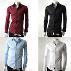 Big Sale  PJ Men's Casual Slim line Stylish Dress Shirts 4 Size