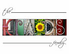 Wall Art Letter Art Alphabet Pictures Custom Gift Photos Free Shipping & Proof