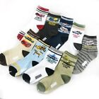Baby Kids Boys Children Vehicle Style Anti-slip Socks Age 4 - 8 Years 10 Designs