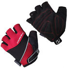 INDIGO MENS/LADIES COMP GYM TRAINING EXERCISE MITTS, RED/BLACK RRP £12.99