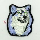 Snow Wolf Night Sew/Iron On Patch 7x10cm S0501