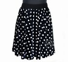 NEW Velvet Skirt Full Circle Skirt Velvet Polka Dot Skirt XS ~ 3XL GF0607