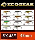 Ecogear SX48F Bream Bass Trout, Spin Fishing Rod Lure