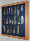 Knife Display Case Shadow Box Wall Cabinet,  with glass door, High Quality :KC04